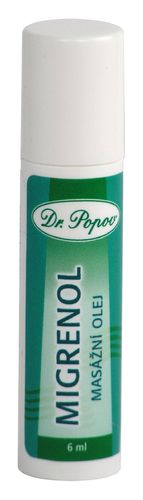 ROLL-ON Migrenol 6 ml, Natur Original des Dr. Popov